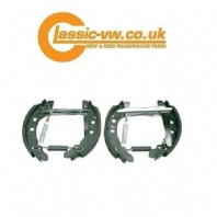 Rear Brake Shoe Kit (180 mm Drum) Mk1 / 2 Golf, Jetta, Scirocco
